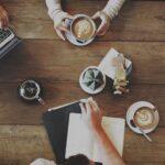 vergaderen business lowietje met lunch
